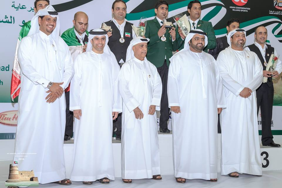Snooker Team - Medalists